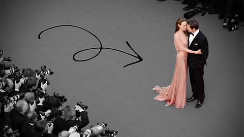 Brad Pitt y Angelina Jolie fueron de las parejas más emblem&aacut...