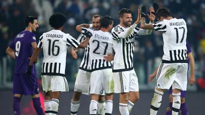 Juventus derrotó a la FIorentina