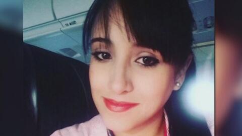 Familia de azafata boliviana sobreviviente al accidente aéreo en Colombi...