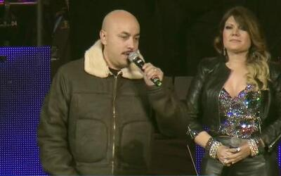 Lupillo llegó al tributo de Jenni Rivera en Monterrey