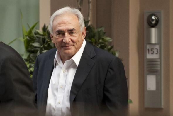 Strauss-Kahn renunció a su cargo el pasado 18 de mayo, luego de s...