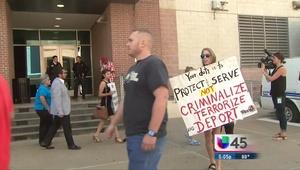 Protesta contra las deportaciones