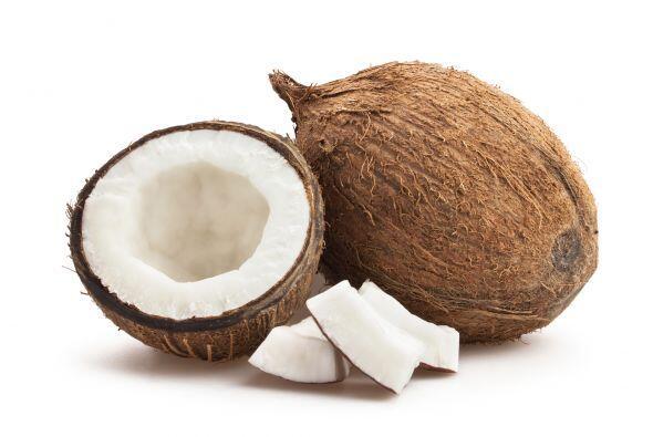 Coco. Esta fruta del cocotero es súper refrescante. No te lo pier...