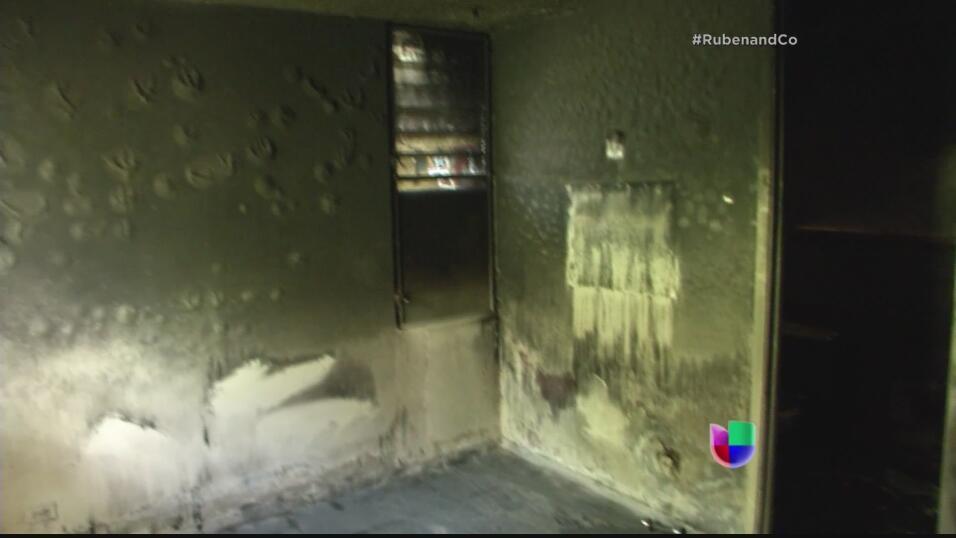 Tras el paso de la tormenta Erika, la casa se quedó sin luz por lo que s...