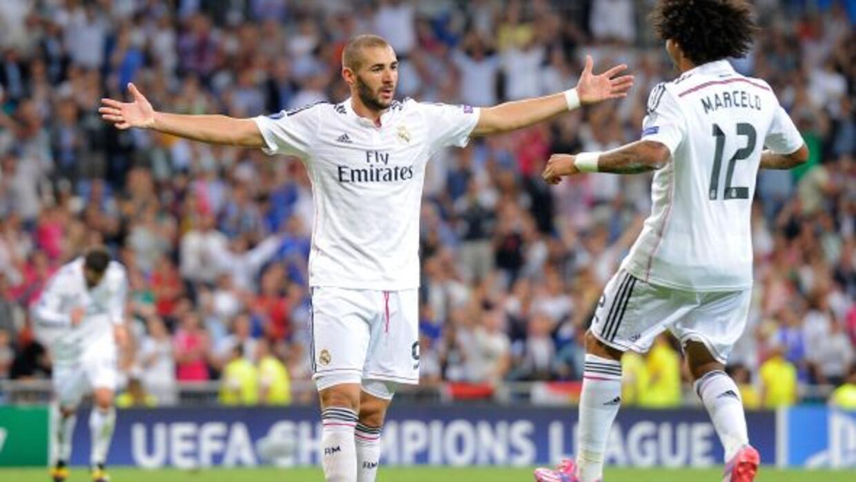 El francés anotó el gol 1000 del Real Madrid 10 minutos antes de que fin...