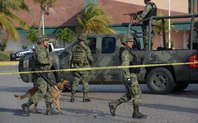 Ejército Mexicano (imagen de archivo)