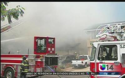 Devastador incendio en San José