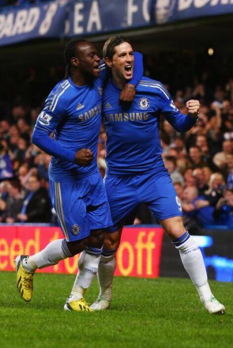 Los 'Blues' no tardaron en abrir el marcador al minuto tres gracias a Fe...