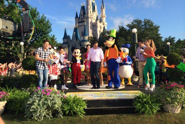 Magia, princesas, música y grandes invitados en un festejo m&aacu...