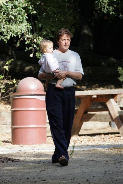 Beatrice McCartney es la más reciente hija del músico.Mira...