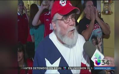 Chilenos gozaron sonado triunfo sobre España