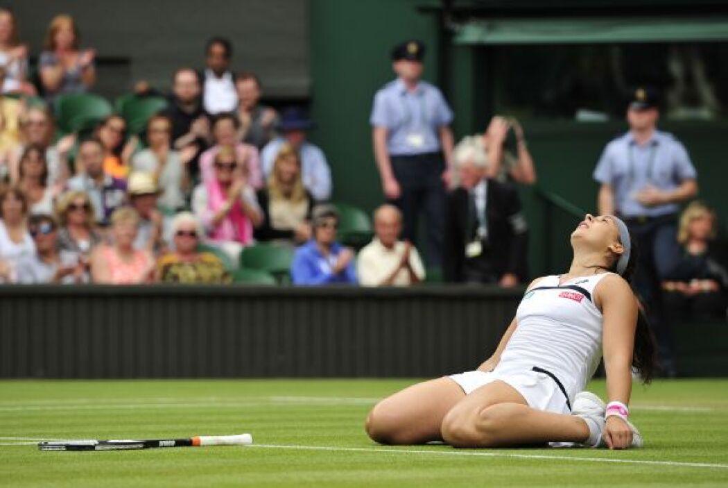 La francesa Marion Bartoli logró la hazaña de colarse a la final de Wimb...