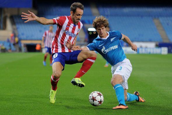 Atlético de Madrid volvía a la Liga de Campeones y lo hacía enfrentando...