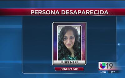 La policía busca a mujer que desapareció en extrañas circunstancias