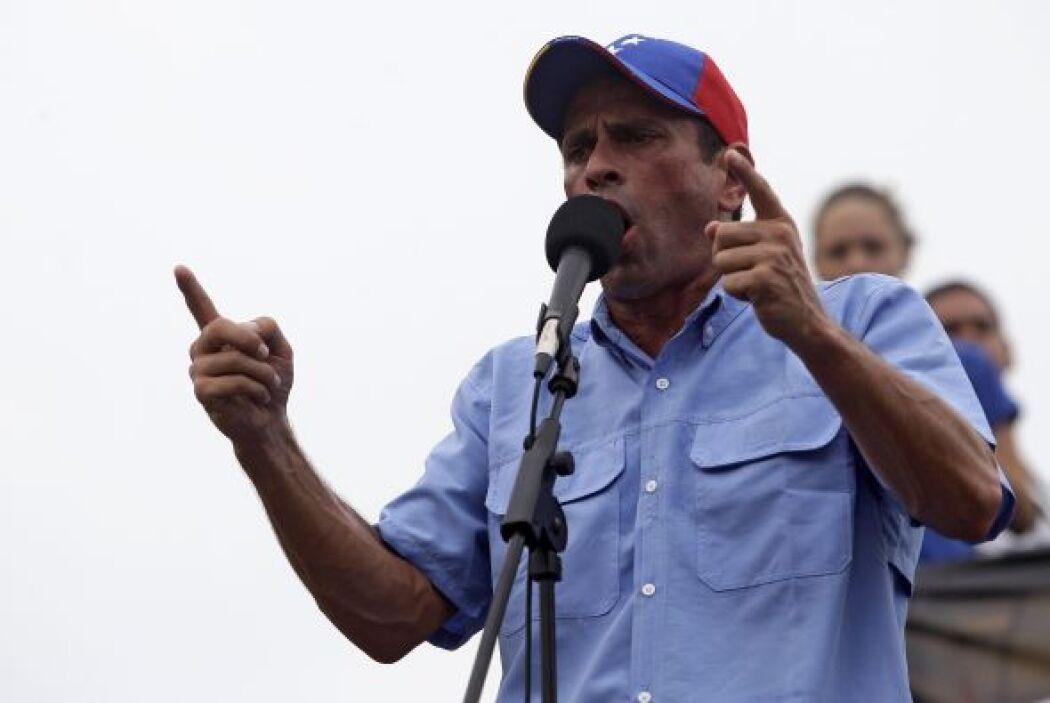 El estudio que da ganador al Capriles, publicado por el diario El Univer...