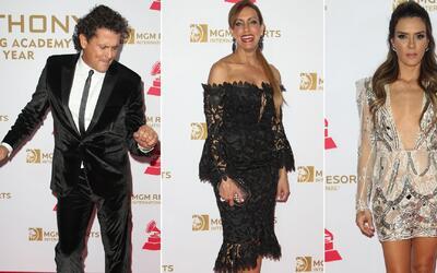 Los famosos celebraron la trayectoria y talento de Marc Anthony