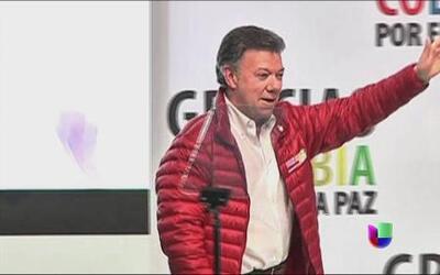 Encuesta favorece a Juan Manuel Santos en elecciones