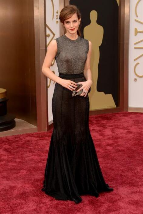 Emma Watson ha dejado de lado la sensualidad y se ha inclinado por un es...