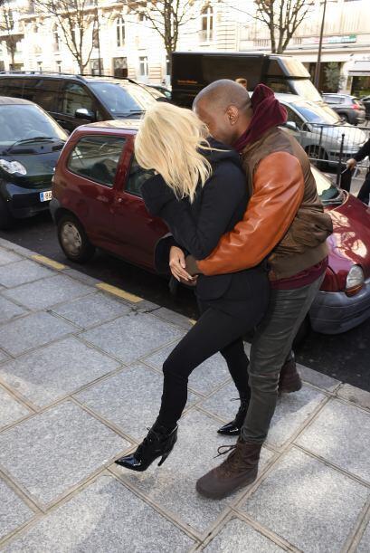 Hace poco Kim declaró que ella y su marido hacen el amor 500 veces al día.