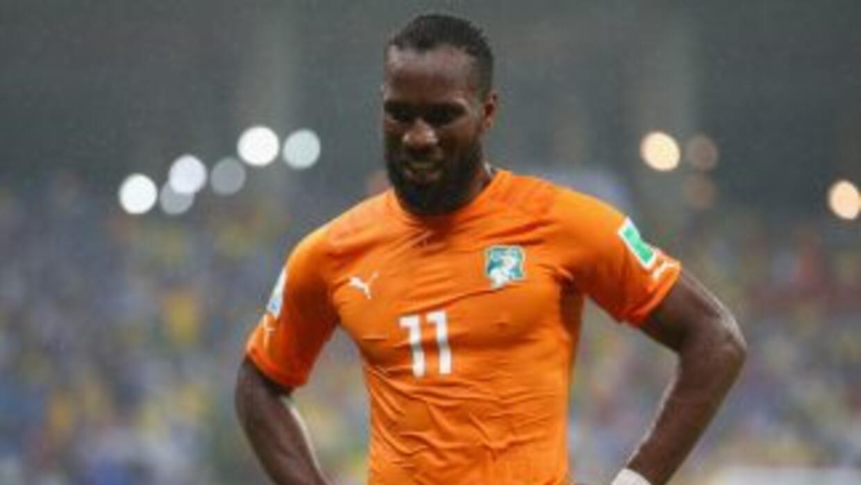 Didier Drogba señaló estar frustrado por no iniciar ante Japón pero que...