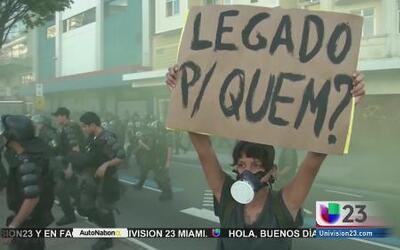 Violento fin del Mundial en Argentina y Brasil