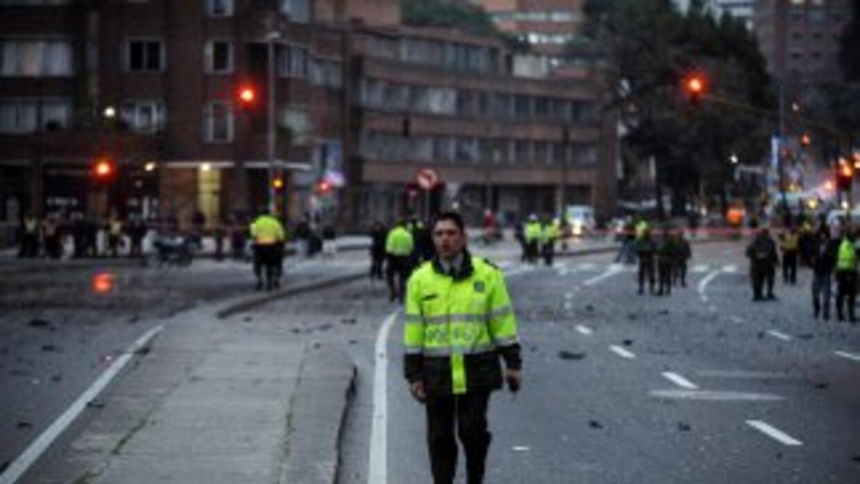 Una nueva explosión se registró este sábado al sur de Colombia, dejando...