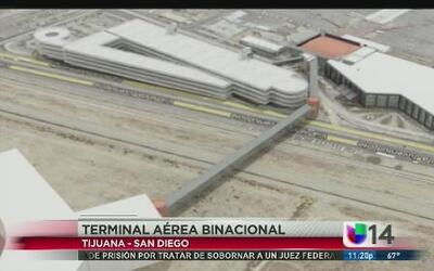 Comienza la construcción de la primera terminal aérea binacional