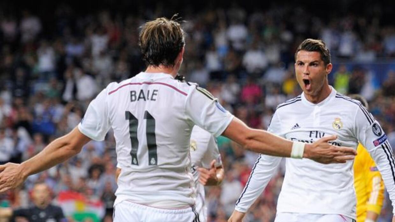 Gareth Bale hizo un gran gol y le dio una asitencia a Ronaldo, que celeb...