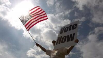Más de 200 millones de estadounidenses tienen cita con las urnas el mart...
