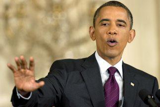 El presidente de Estados Unidos, Barack Obama, volvió a insistir en la n...