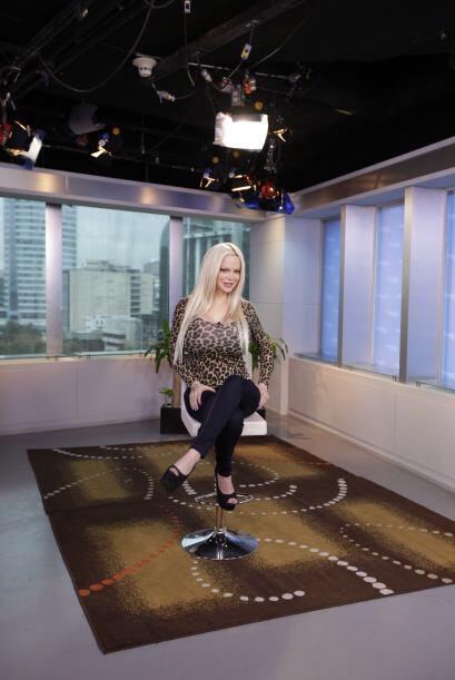 La modelo, conductora y cantante Sabrina Sabrok estuvo de visita en Desp...