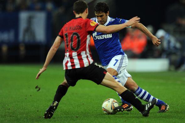 Sin embargo, el español Raúl González se lució como en sus mejores tiemp...