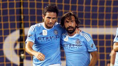 Andrea Pirlo y Frank Lampard, New York City FC
