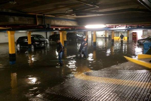 Dos tormentas tropicales azotaron México, calles afectadas, casas...
