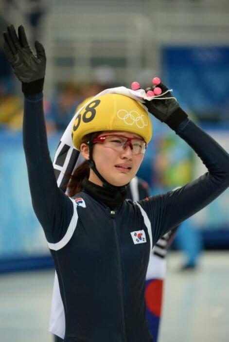 Park Seunghi llora de felicidad tras ganar, con su equipo, la metalla de...