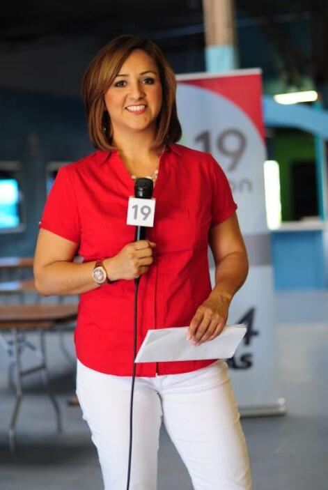 Martha Minjarez reportando en vivo desde Cal Expo, donde se llevó a cabo...