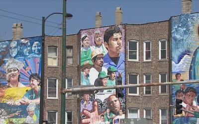 Pilsen, uno de los barrios de Chicago más representativos de la comunida...