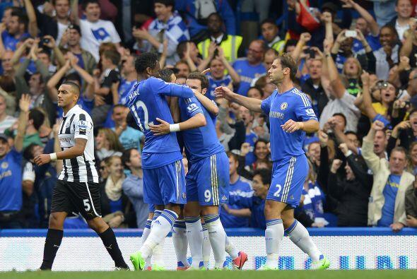 Y es que marcó un buen gol ante el modesto club inglés.