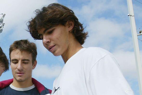 01.- Con quince primaveras, Nadal se convirtió en el jugador más joven d...