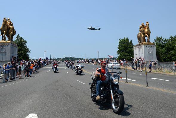 El objetivo de este rally es mostrar el apoyo hacia los veteranos de gue...