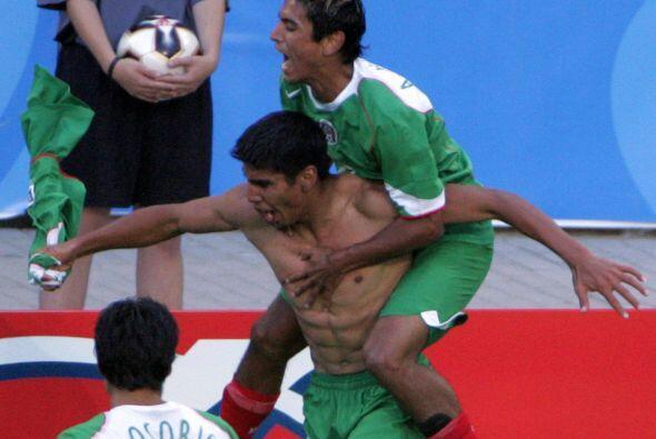 Uno de los momentos más importantes de Salcido con el Tricolor fu...