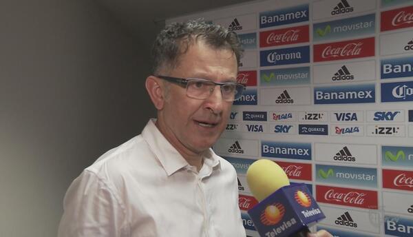 """Juan Carlos Osorio: """"Logramos un gran resultado e hicimos un gran juego"""""""
