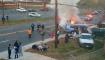 Accidente vehicular en Hyattsville, Maryland