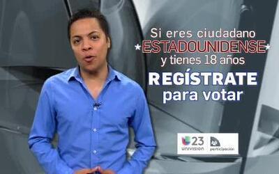 Danny Luna te invita a registrarte para votar