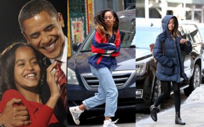 Evolución Malia Obama