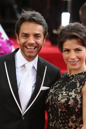 Eugenio Derbez y Alessandra Rosaldo también quieren hacer grande la fami...