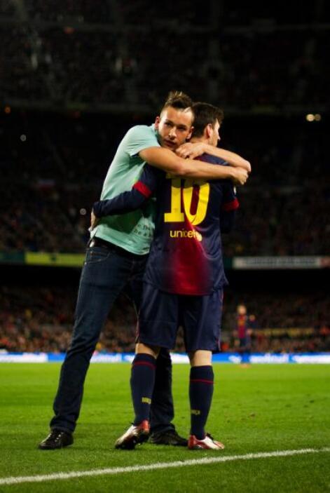 Ya con la ventaja para el Barcelona, Messi hizo dos goles y hasta el abr...