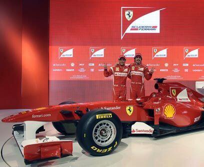 FERRARI F150El nuevo monoplaza de la escudería Ferrari, el F150, será co...