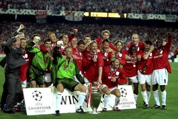 Cómo no recordar la intensa Final de 1999, cuando Manchester Unit...