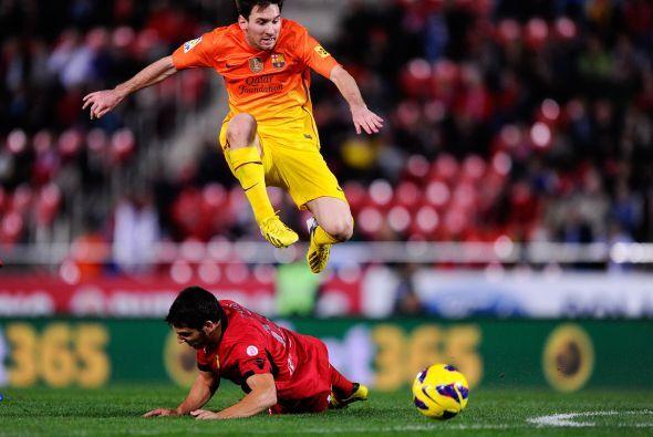 'La Pulga' volvió a tener un partido para el recuerdo contra el Mallorca.